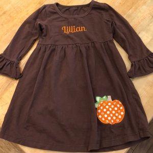 FALL PUMPKIN DRESS for a LILLIAN